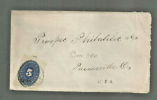1894 Mexico cover Nogales Son to Painesville Oh Arizona P'ville back stamps
