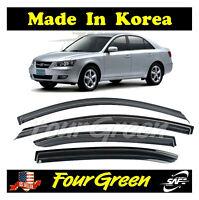 Window Vent Deflector Rain Guard Visor Deflectors for 2005-2010 Hyundai Sonata