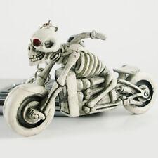 1pc Originality Skeleton Motorcycle Keychain Keys Ring Key Fob Buckle Keyring