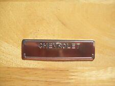 1955-63 Chevrolet Reproduction Vin Tag Impala Corvette Belair Factory Correct