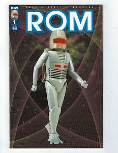 ROM # 1 Action Figure Subscription Cover IDW NM