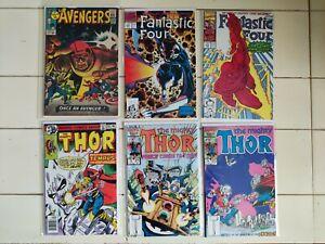 Loki Disney Plus Key Lot Avengers 23 Fantastic Four 352 353 Thor 282 371 372