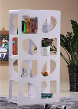 Brand new White Hi High Gloss Shelf Bookcase Shelves & Chrome - Shelving System