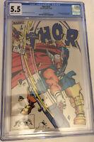 Thor 337 CGC 5.5 first app of Beta Ray Bill Marvel Comics Nov 1983
