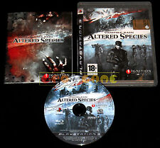 VAMPIRE RAIN ALTERED SPECIES Ps3 Versione Italiana 1ª Edizione ••••• COMPLETO