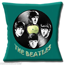 "THE BEATLES MUSICIANS JOHN PAUL RINGO GEORGE PHOTOS 16"" Pillow Cushion Cover"