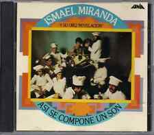 CD Mega RARE Fania FIRST PRESSING Ismael Miranda & Revelacion ASI SE COMPONE SON