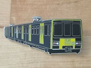 Tyne & Wear Metro Enamel Brooch Pin Badge