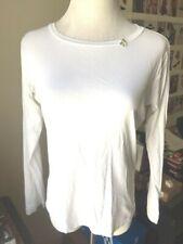 Antipast Long Sleeve White T-shirt Size M