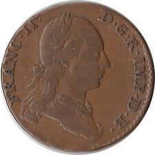 1793 Austrian Netherlands 2 Liards (2 Oorden) Coin Franz II KM#57