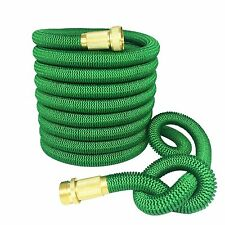 Garden Hose 50 feet Strongest Expandable Hose with all Brass by Greenbest
