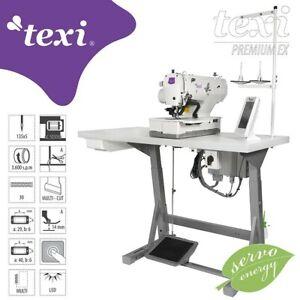 TEXI O PREMIUM EX Elektronische Knopflochmaschine - komplette Nähmaschine NEU
