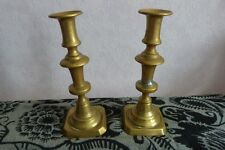 Anciens Bougeoirs bronze  Antic Candlestick