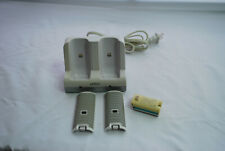 Nintendo Wii Nyko Charge Station Charging Dock W/Battery & Lid for Controllers