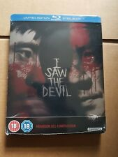 I Saw the Devil Blu-Ray Steelbook Brand new and sealed