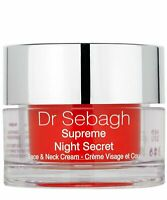 New Sealed Dr Sebagh Supreme Night Cream Face & Neck Cream 50 ml 1.7 oz