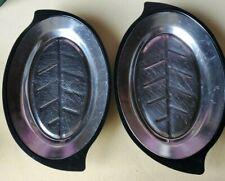 Nordic Ware Large Plate Holder And Sizzling Steak Server Platter Set of 2 # 1112