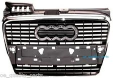 NEW AUDI A4 B7 2004-2008 CENTRE FRONT MAIN MIDDLE CENTRAL GRILLE CHROM CHROMED