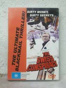 THE SWISS CONSPIRACY (1976) DVD David Janssen, Senta Berger, John Ireland