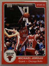 1985 STAR MICHAEL JORDAN #101 ROOKIE CARD REPRINT RC