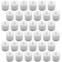 36Pcs Flameless Flickering LED Candles Tea Light Battery Operated - Warm White