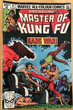 Marvel Comics The Hands Of Shang Chi Master Of Kung Fu #91 August 1980