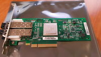QLOGIC DELL 8GB FC DUAL PORT PCIE X8 FC HOST BUS ADAPTER HBA QLE2562-DEL +GBICS