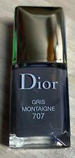 Dior nail polish 707 GRIS MONTIAGNE rare 7 ml BNIB