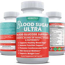 Blood Sugar Ultra - Glucose, Immune, Weight-Loss Support* -Gluten Free, Non-GMO
