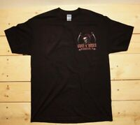 Guns N Roses T-shirt Concert Tour  EXIT 111 Manchester,TN 10/13/2019 Gildan