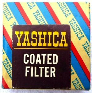 Yashica 30mm UV Bayonet Filter w/ Case, Box And Instructions.