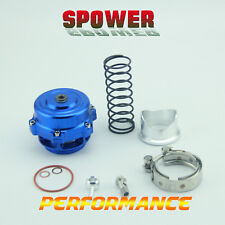 50MM Universal Blue Blow Off Valve Turbo Bov With Kits For Turbo charged Car