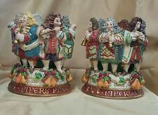 FITZ & FLOYD 12 DAYS OF CHRISTMAS TWELVE PIPERS PIPING *NEW*