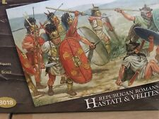 HaT 1/72 Republican Romans Roman Hastati and Velites # 8018