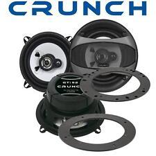 Crunch Lautsprecher 13cm & Adapterringe für Ford Puma Fronttüren