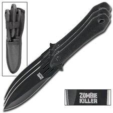 Decimator Zombie Killer 3 Piece Tactical Target Practicing Throwing Knives