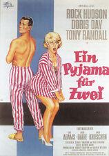 Lover come back Doris Day Rock Hudson movie poster print