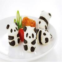 Panda Shape Sushi Maker Rice Ball Mold Cutter Bear Mould Kitchen Tool SL