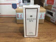 GUCCI No # number 3  Perfume Eau de Toilette EDT for Women Spray 4fl.oz 120m her