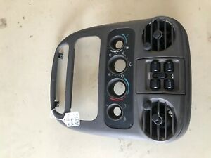 00-05 Dodge Neon Radio Climate Temperature Control Center Dash Bezel Trim OEM