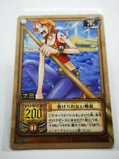 One Piece From TV animation bandai carddass carte card Made in Korea TD-C07