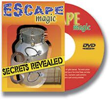 Secrets revealed - Escapes - Street Magic - Giochi di Magia
