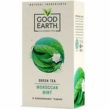 Good Earth Moroccan Mint and Green Tea 15 Bags