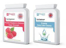 Cetonas De Frambuesa + Dieta Adelgazante Colon Cleanse Detox-metabolismo graso