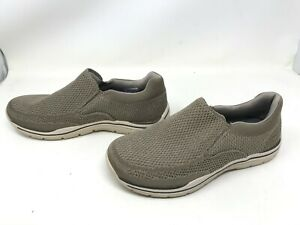 Mens Skechers (65086) RELAXED FIT EXPECTED GOMEL taupe loafers (431o)