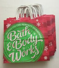Lot Of 30 Bath & Body Works Paper Shopping Christmas Holiday Gift Bags