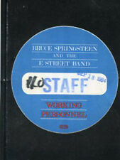 Bruce Springsteen-backstage pass working staff 9/18/84 Philly Spectrum - blue