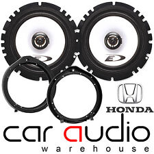 Honda CIVIC 2006 ON 16CM 6.5 ALPINE 440 Watts Front Door Car Speakers & Brackets