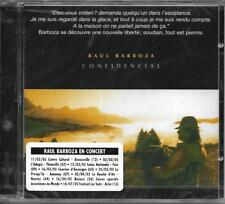 CD 14T RAUL BARBOZA CONFIDENCIAL INCLUS LIVRET 8 PAGES NEUF SCELLE FRANCE 2004