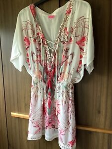 River Island beach cover up Size 8